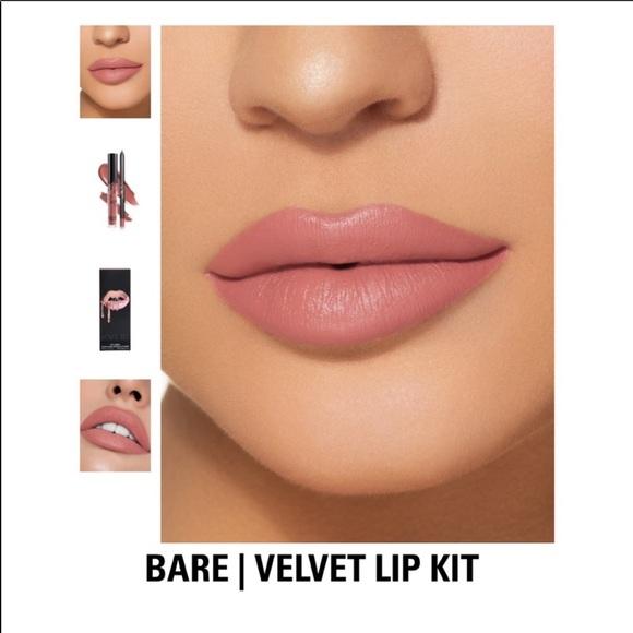 NIB Kylie Cosmetics | Bare Velvet Lip Kit